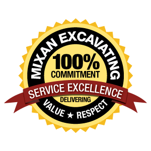 Mixan Excavating Service Excellence Commitment